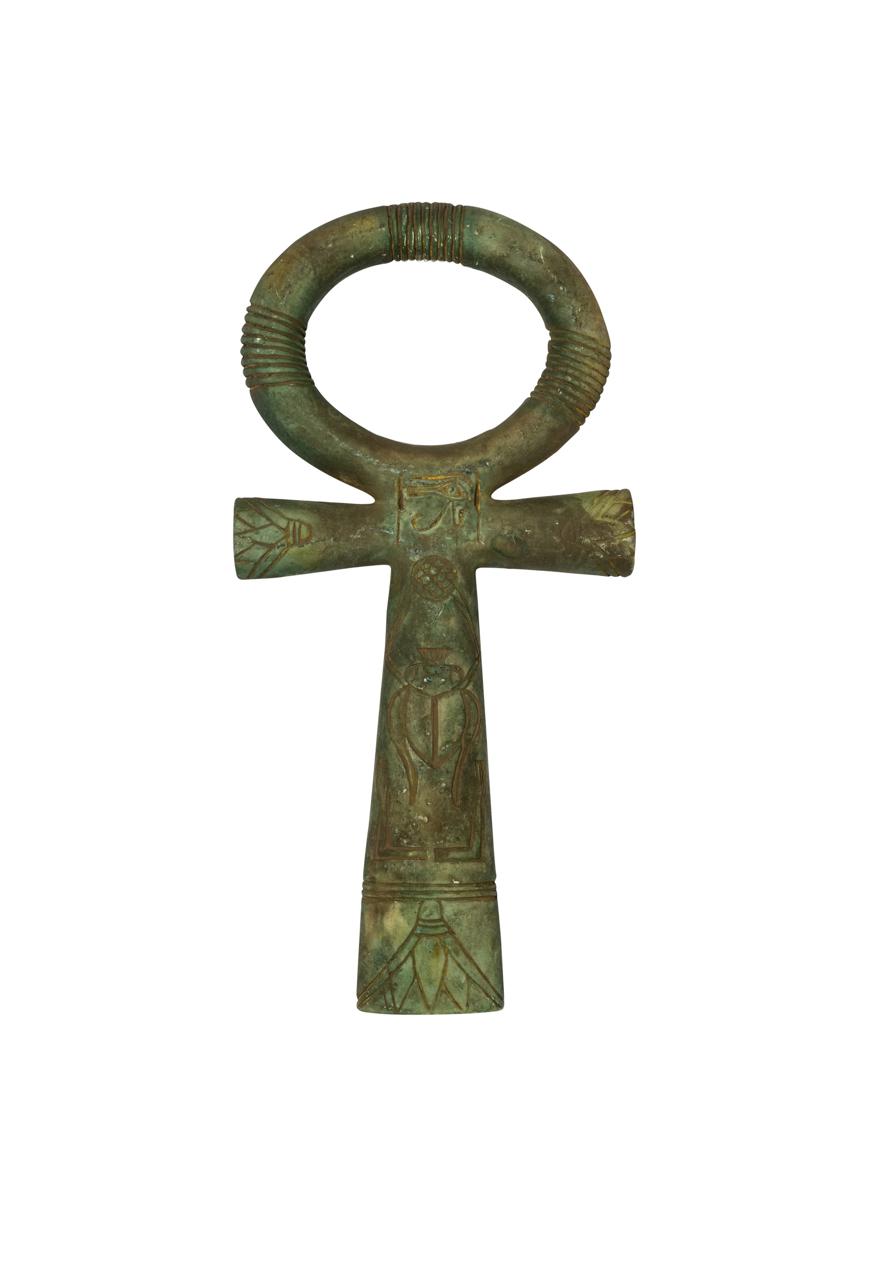 Cruz Egipcia Ankh verde