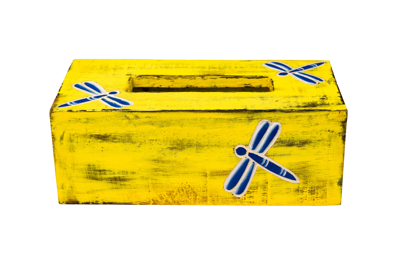Kleenera en madera Amarilla