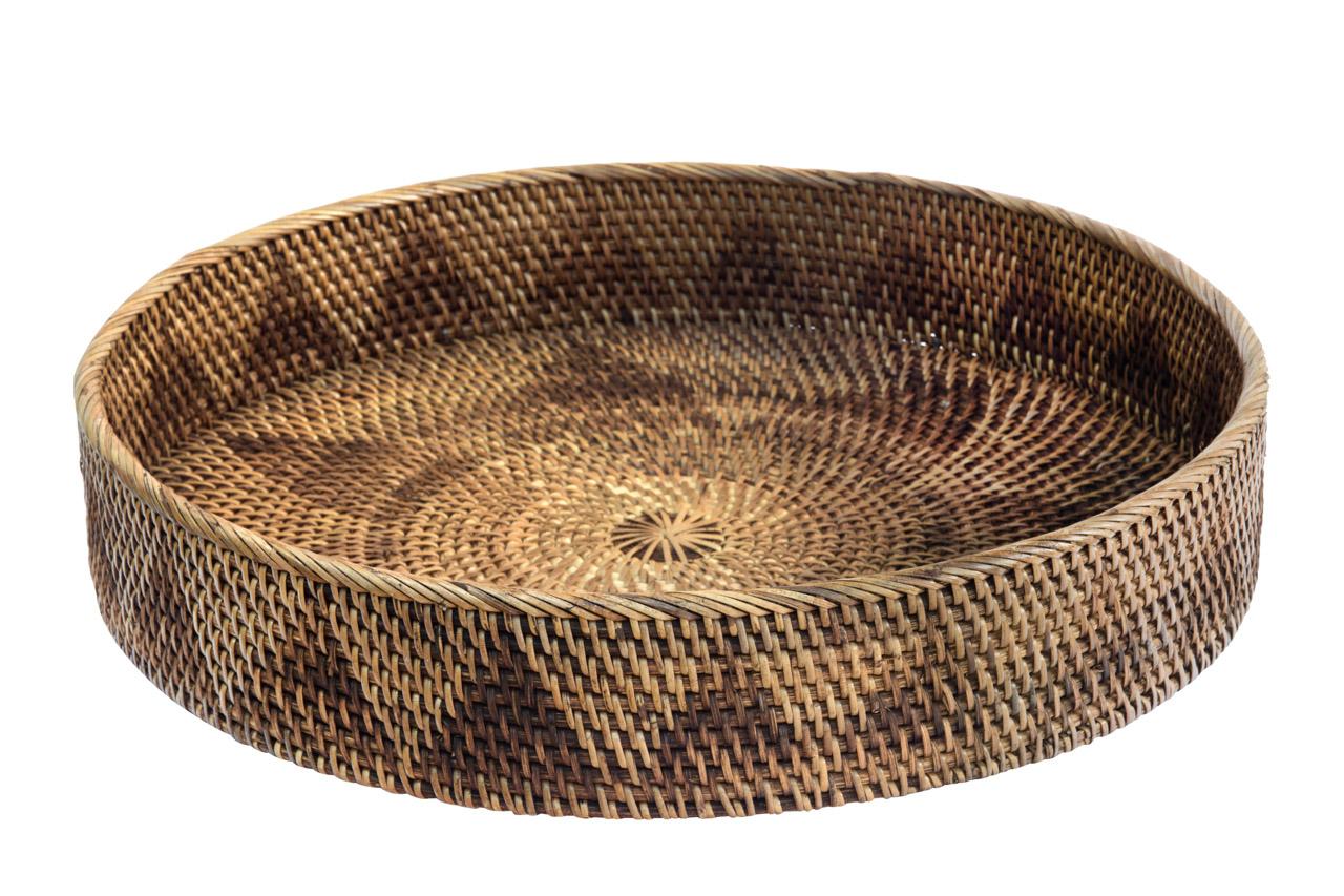 Rattan tray, 45 Cm