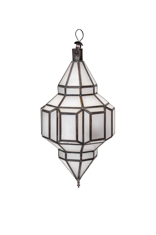 Lámpara diamante Marroqui, 47 Cms