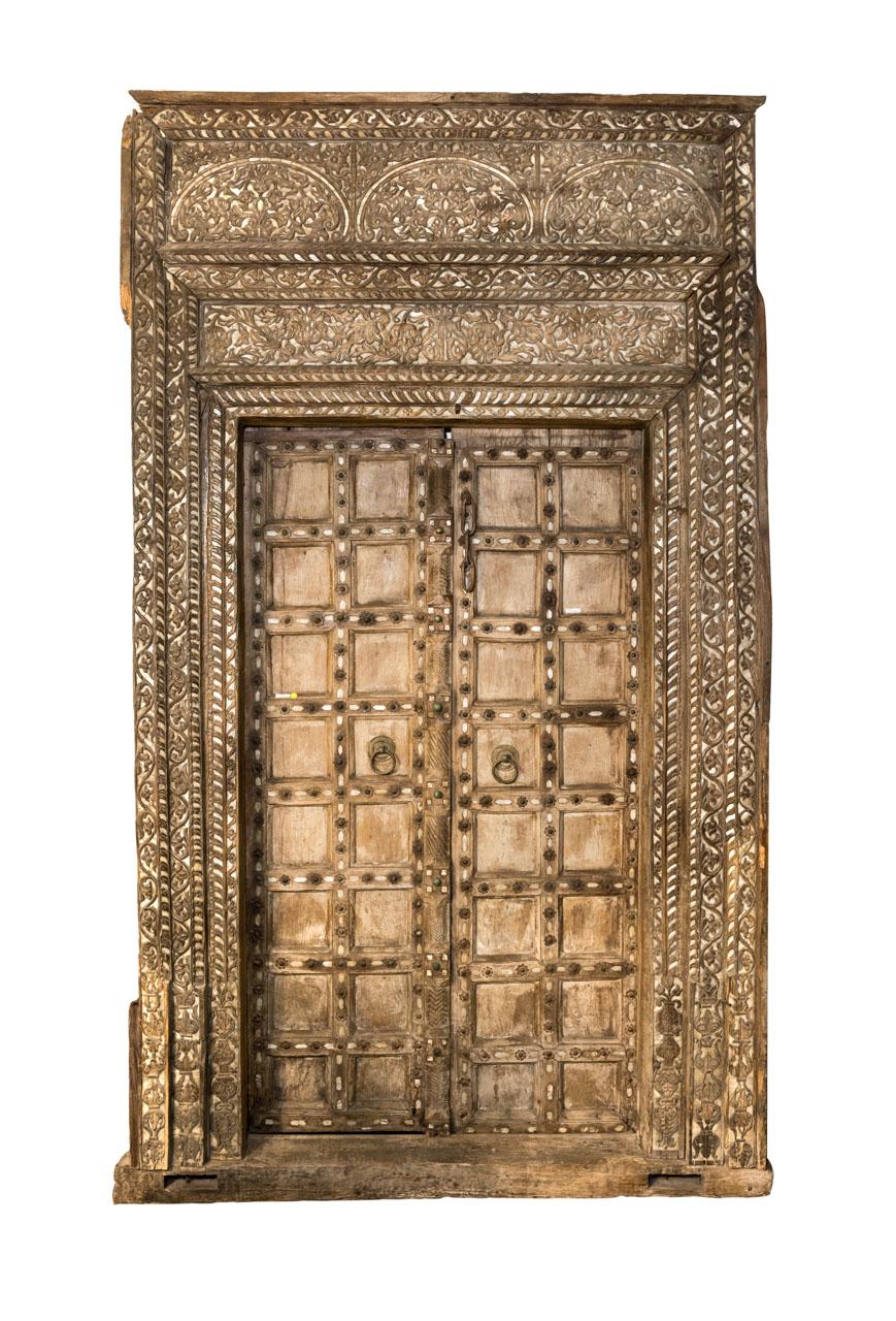 Puerta antigua India