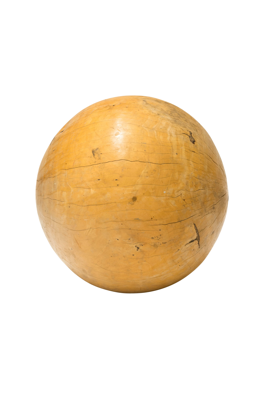 Teak Wood Decorative Sphere