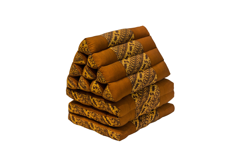 Brown Thai Folding Cushion