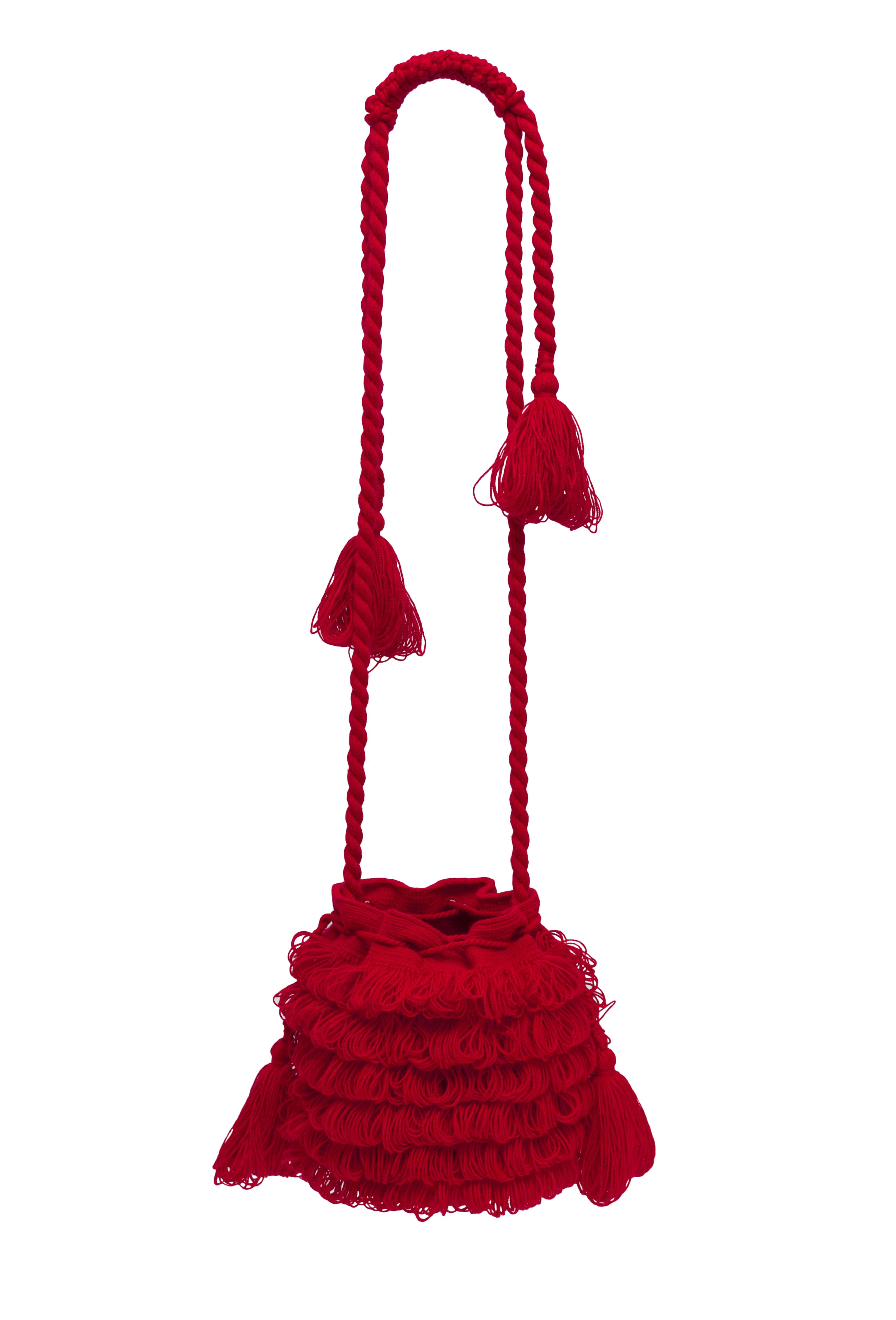 Mochila Bigotes, Rojo