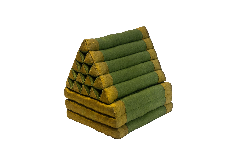 Cojín Tailandés Plegable Verde