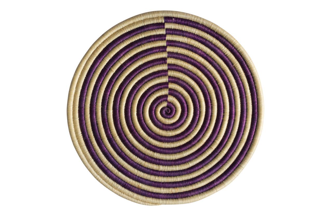 Guacamaya placemat set, purple