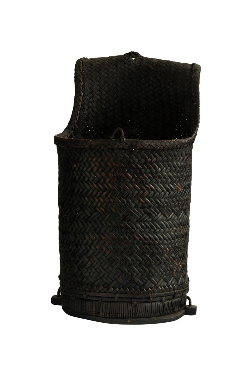 Canasto Recolector Negro