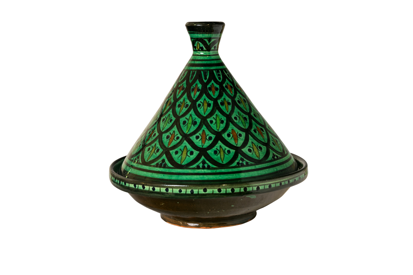 Green Moroccan Tajin