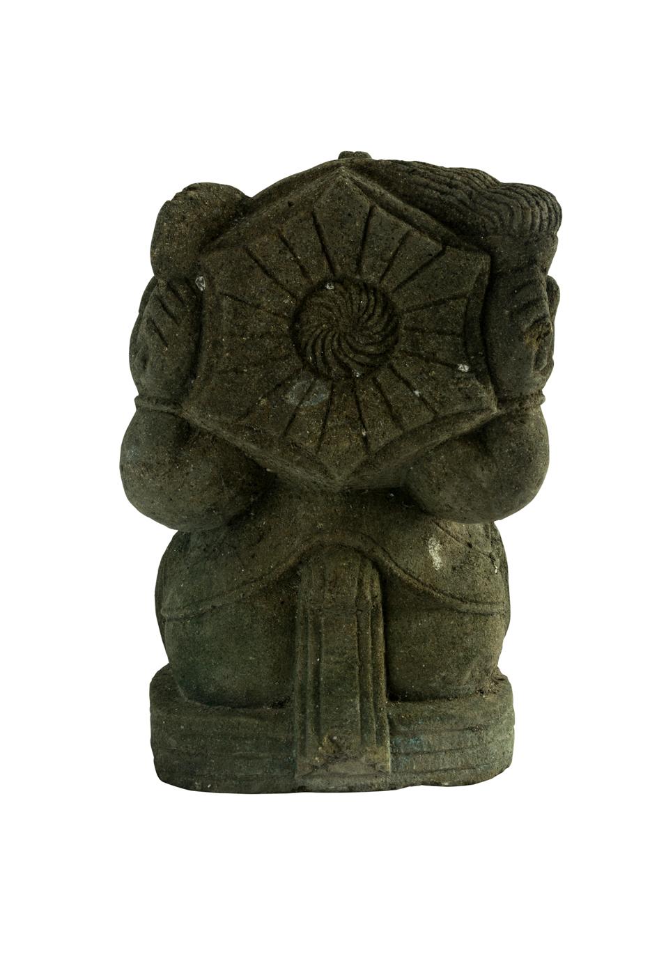 Ganesh Tallado En Piedra