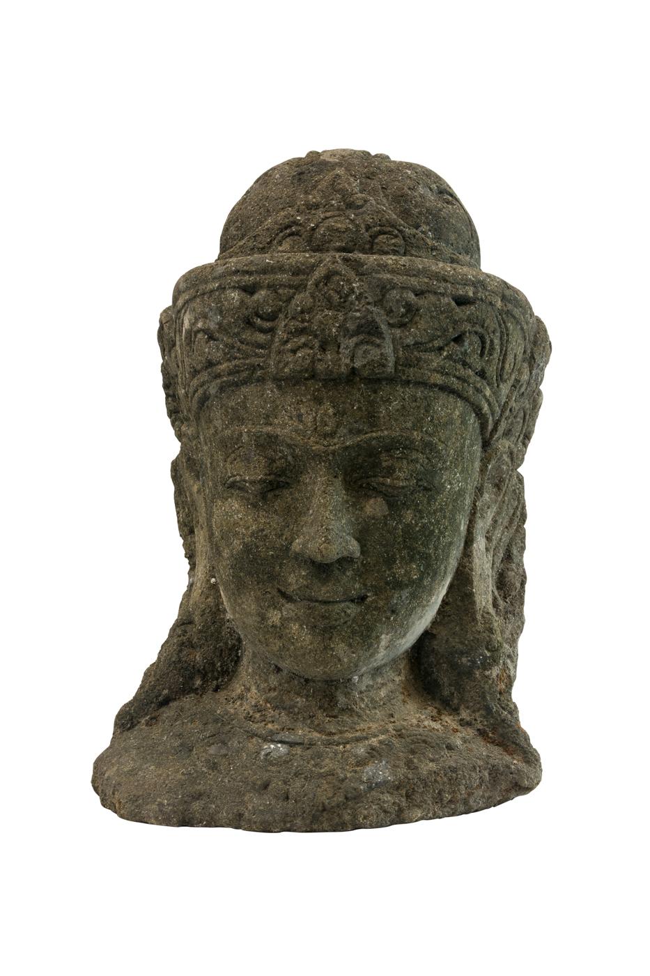 Escultura Tallada En Piedra Olas De Mar