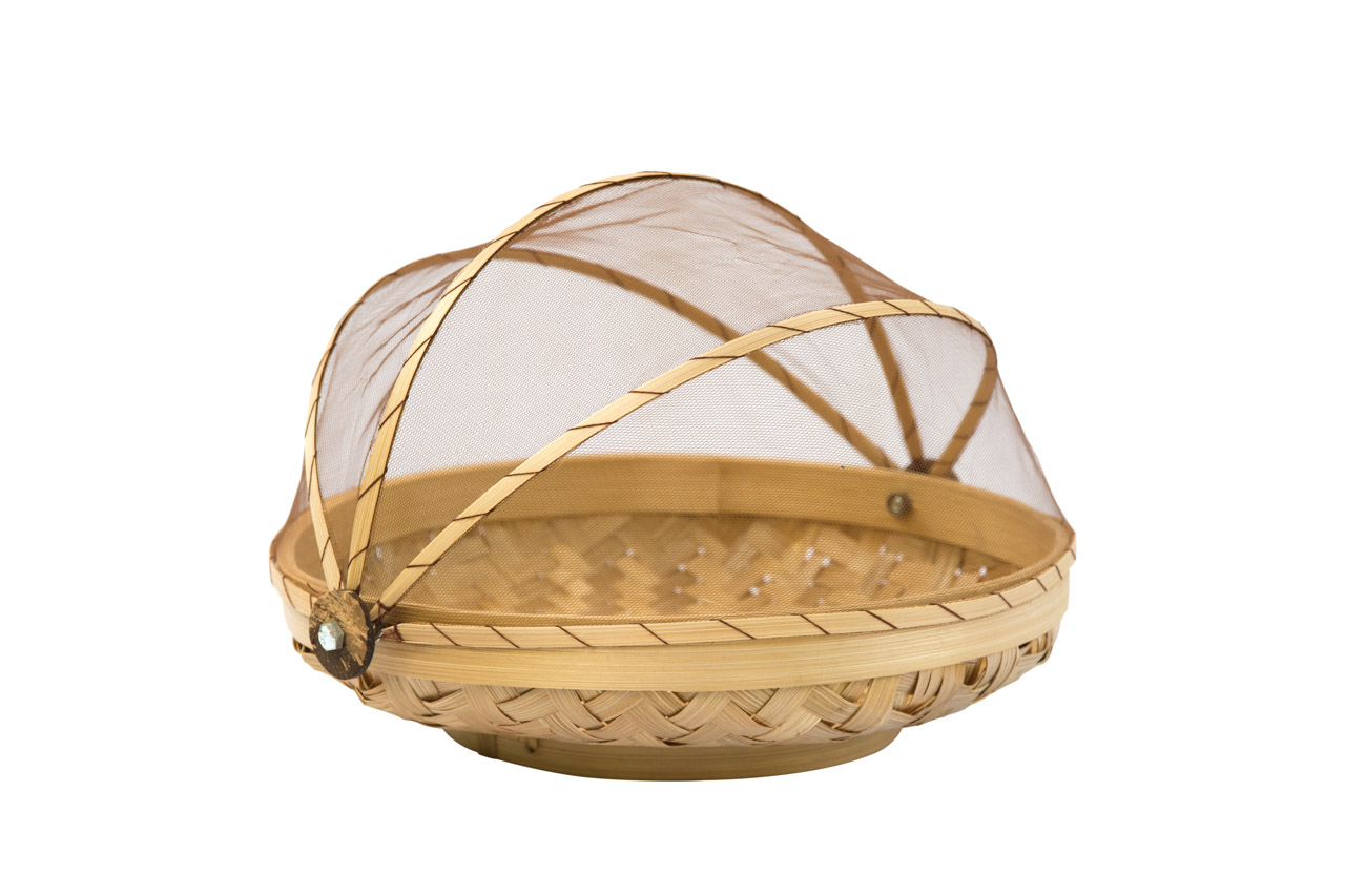 Tray In Bamboo, 26 Cm