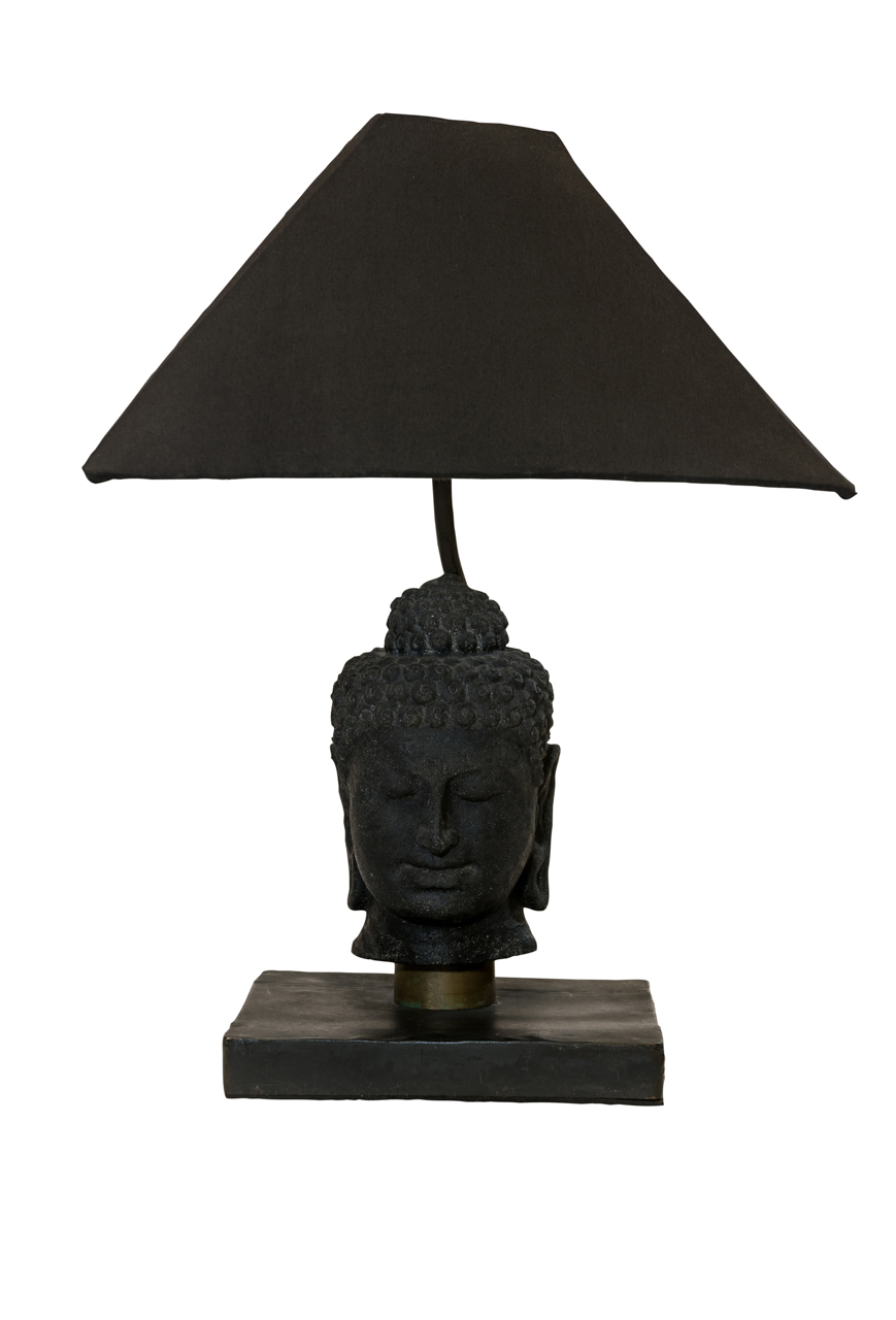 Lámpara de mesa cabeza de Budha
