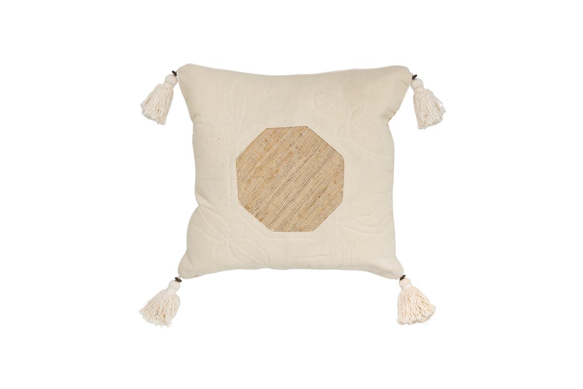 Indonesian Octagon Cushion