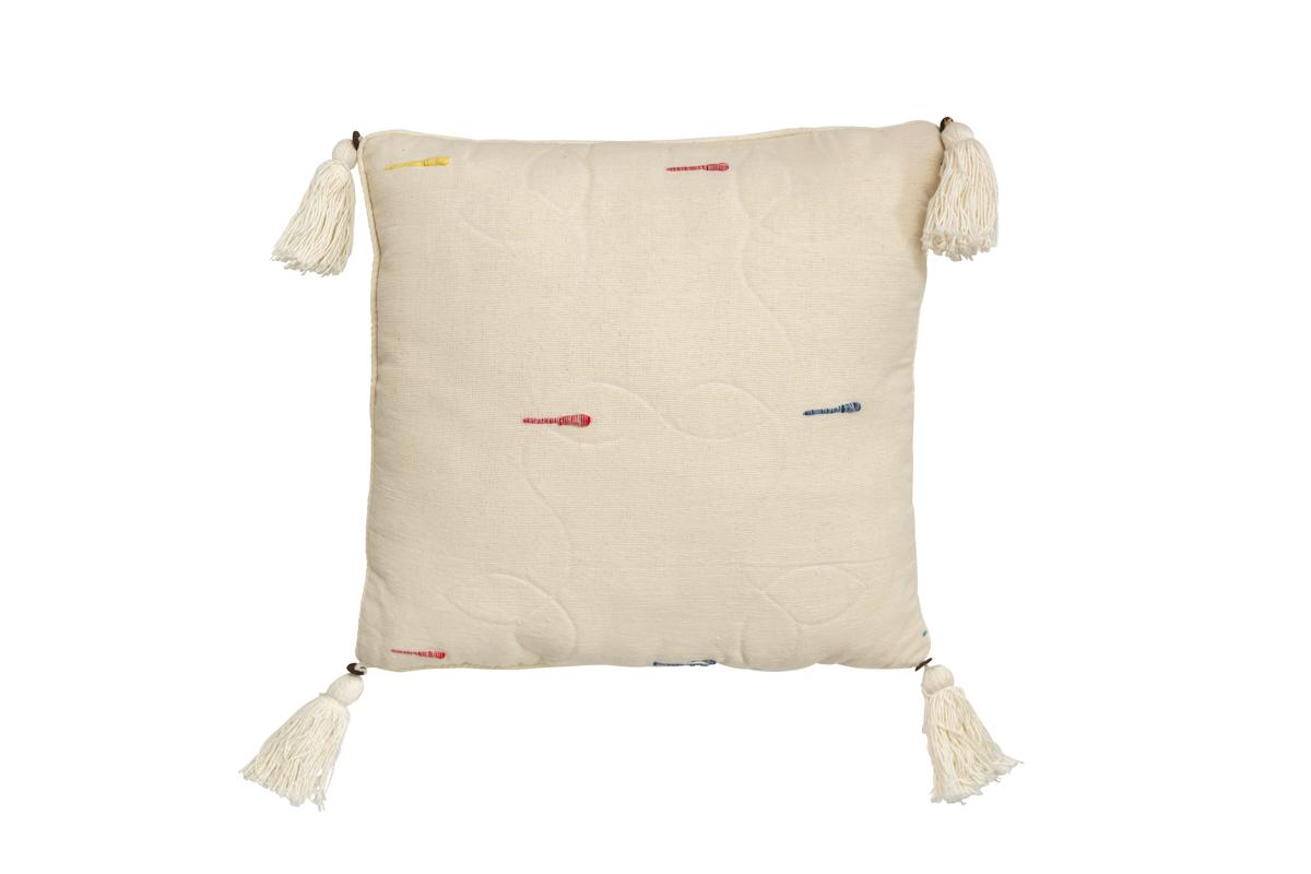 Indonesian beige cushion