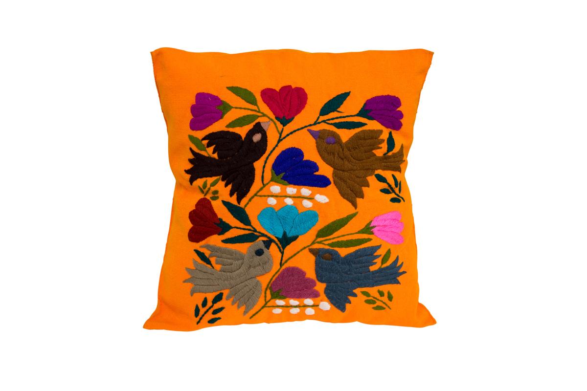 Hummingbird Otomi Cushion