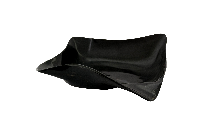 Bowl de cuerno negro