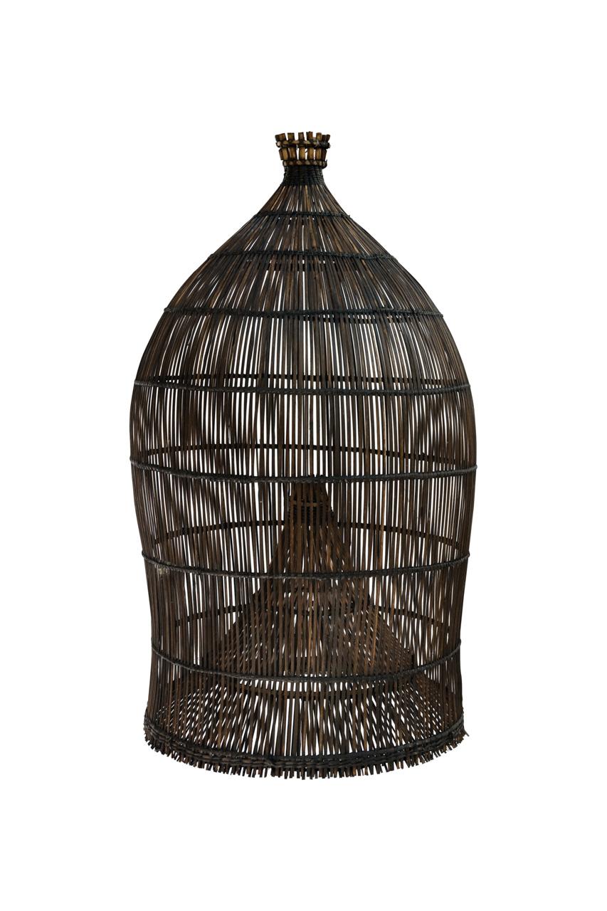 Lámpara Estilo Camaronera Bali Negra