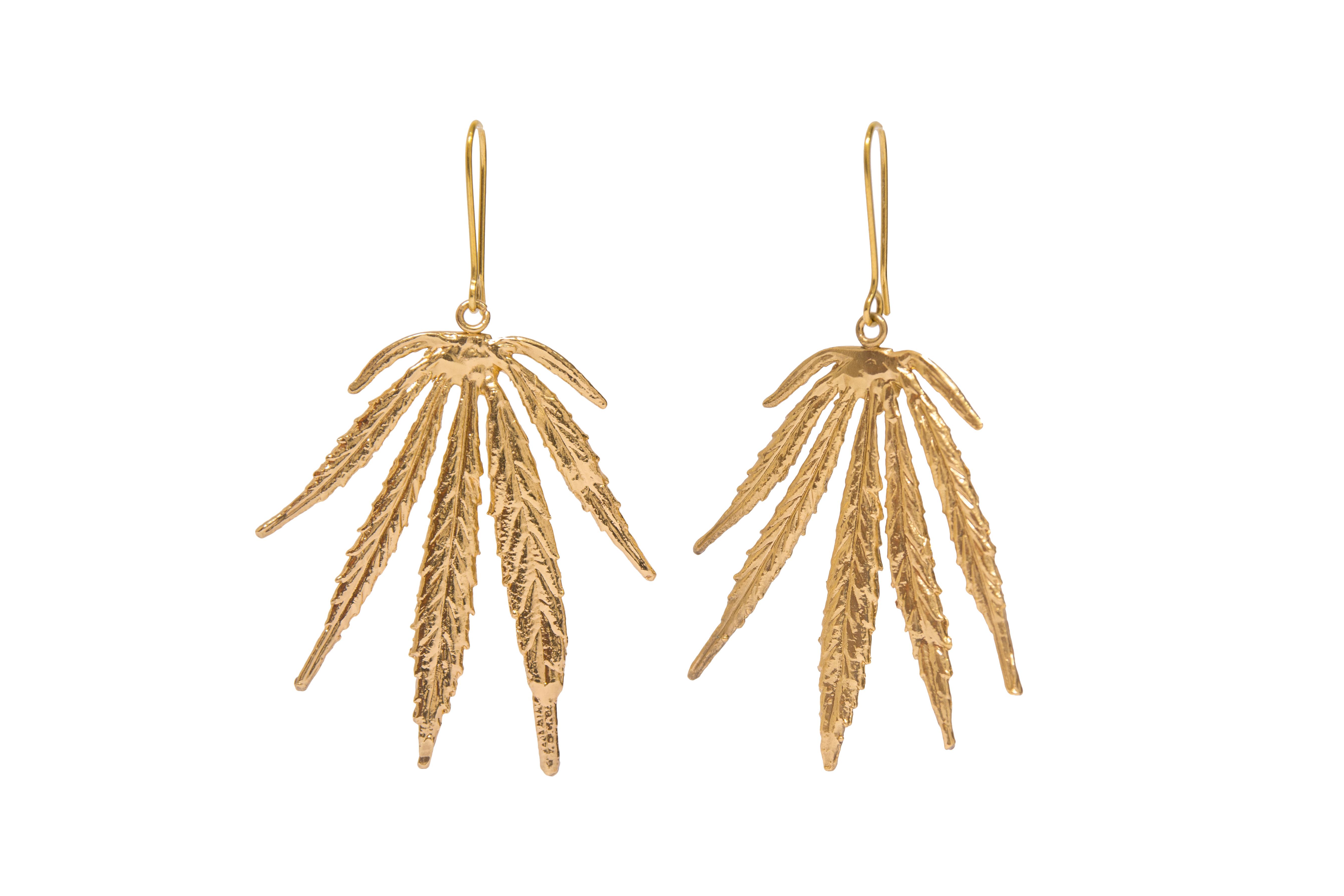 Leaves of Mary Earrings
