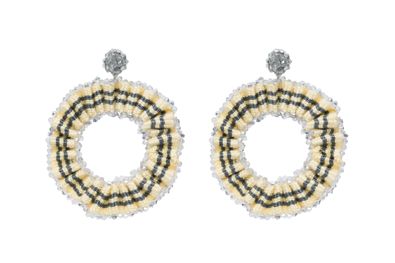 San Jacinto Earrings White