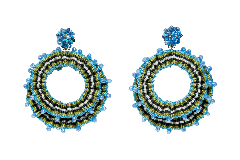 San Jacinto  Earrings Blue
