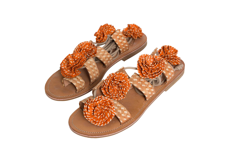 Sandal Caña flecha Orange
