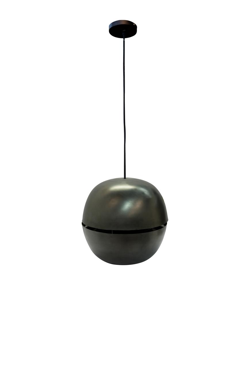 Lámpara de colgar Nussen Negra