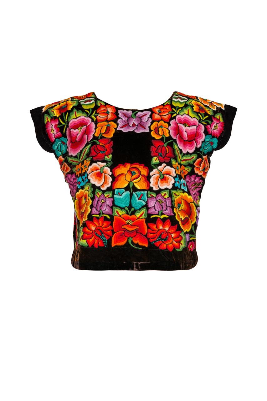 Blusa Oaxaca Multicolor