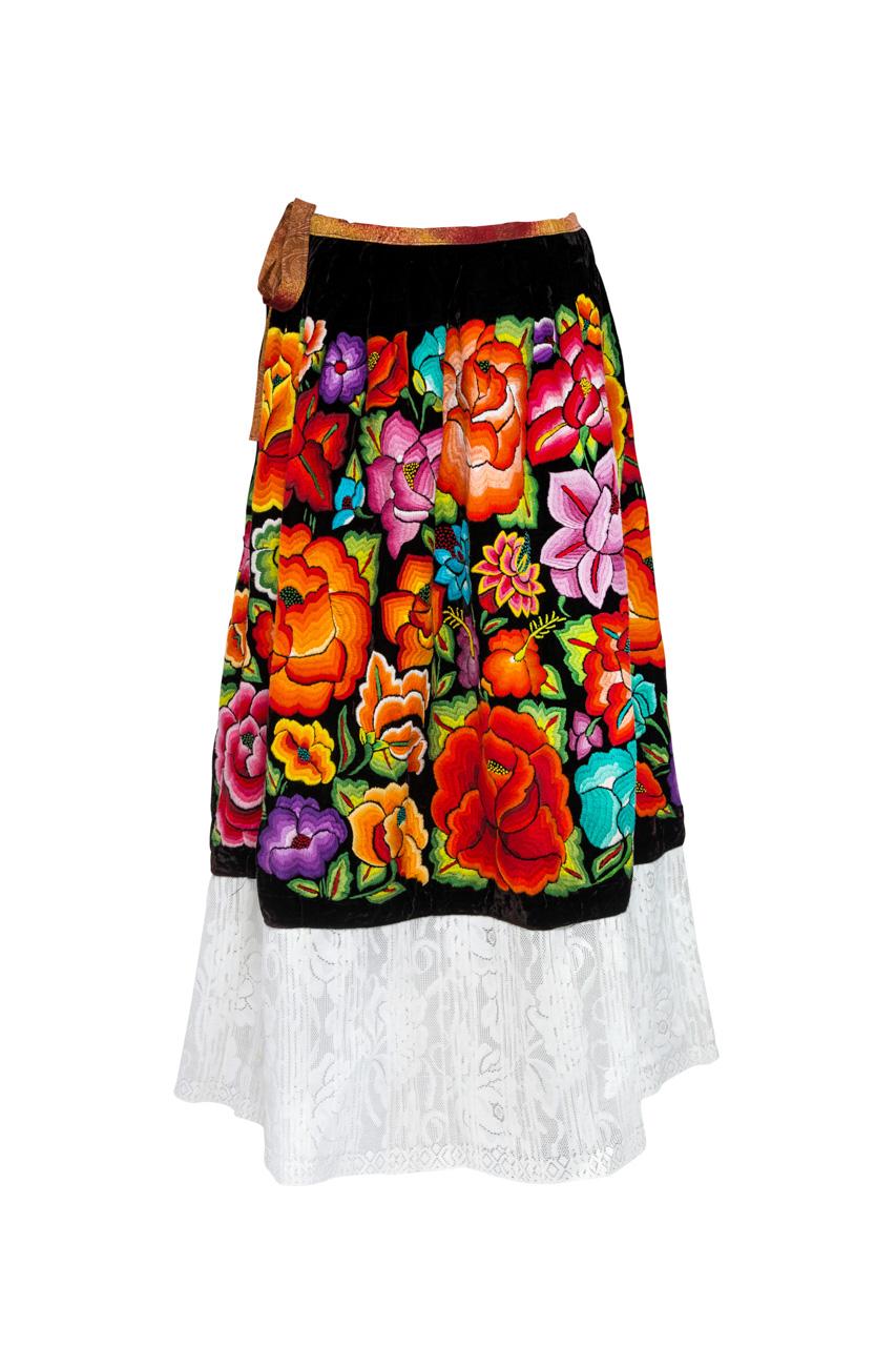 Falda Oaxaca Multicolor
