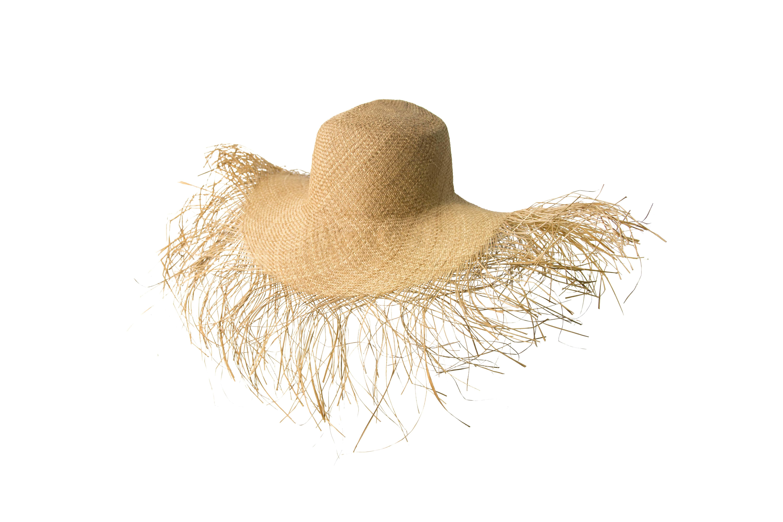 Sombrero desflecado Iraca