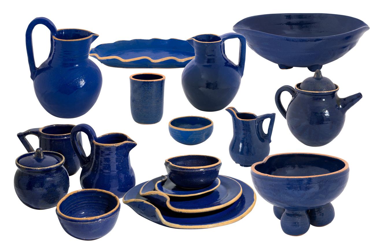 Oaxaca Sandunga Blue Tableware