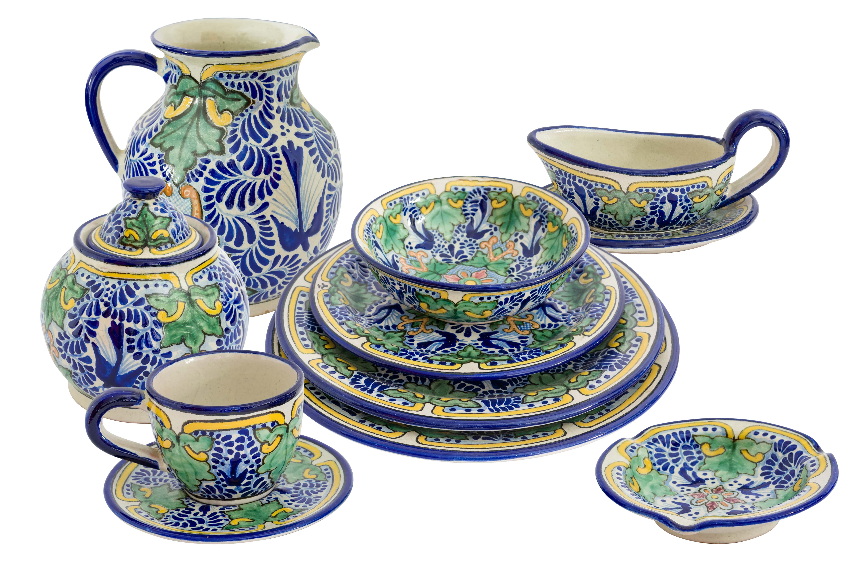 Uriarte Talavera Maple Tableware Set