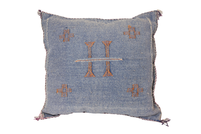 Moroccan Sabra cushion blue jean