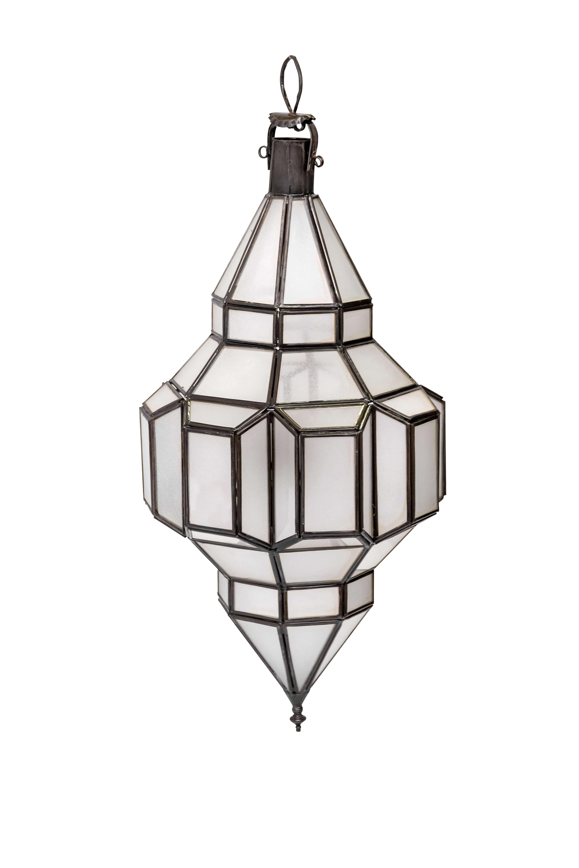 Lámpara, diamante Marroquí, 53 Cm