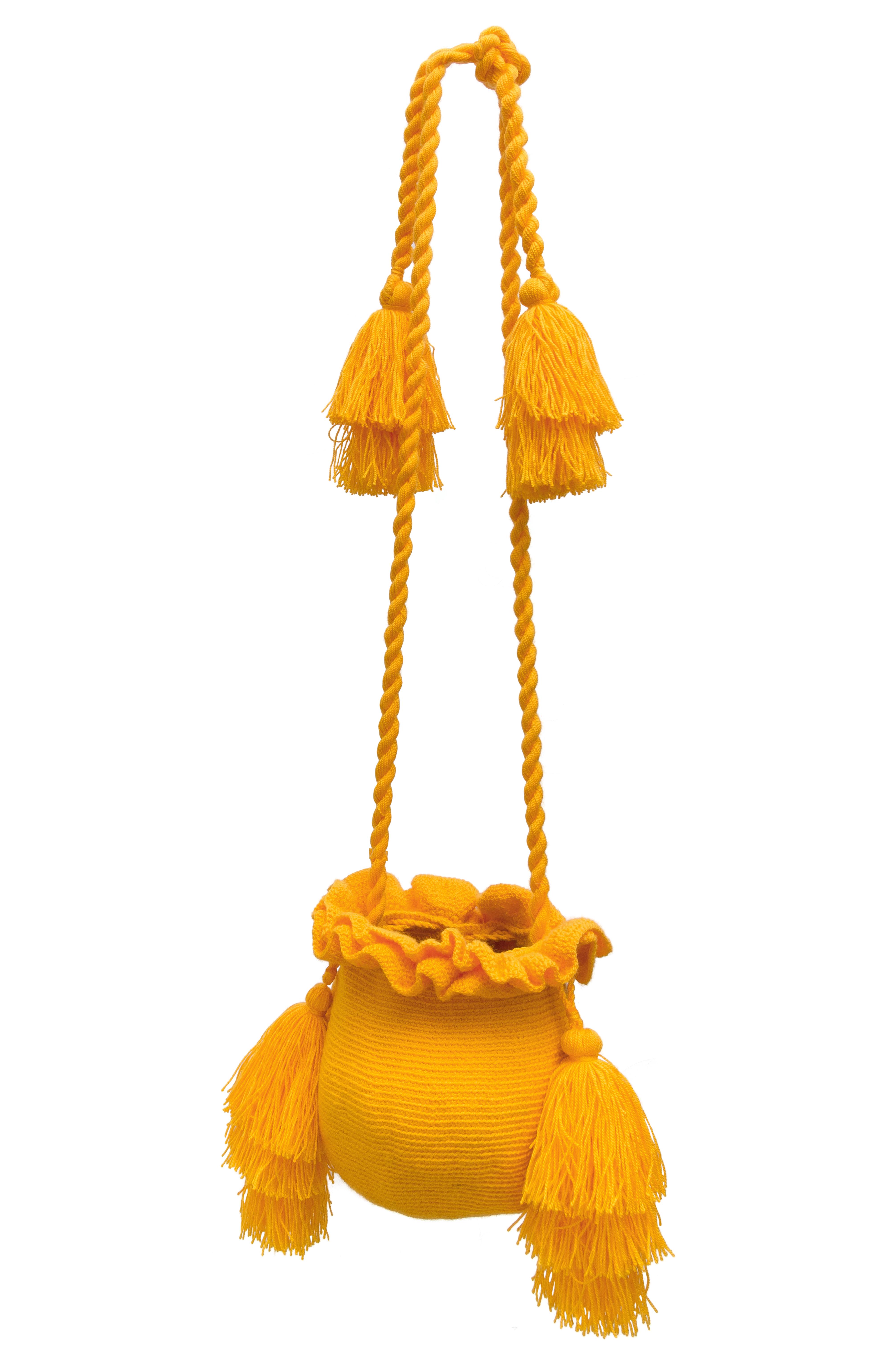 Mochila La Guapa amarilla