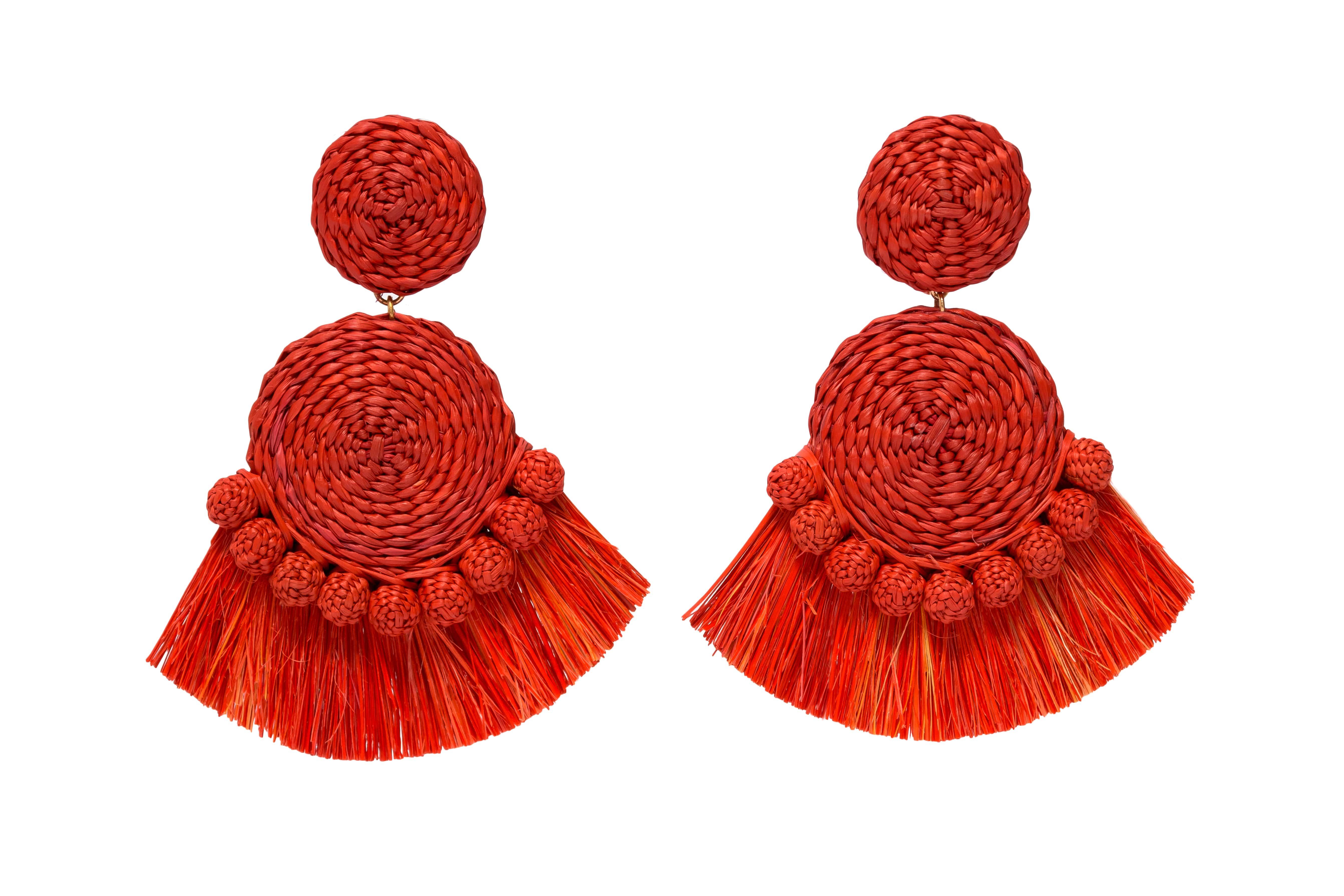 Gustavo Earrings Terracotta