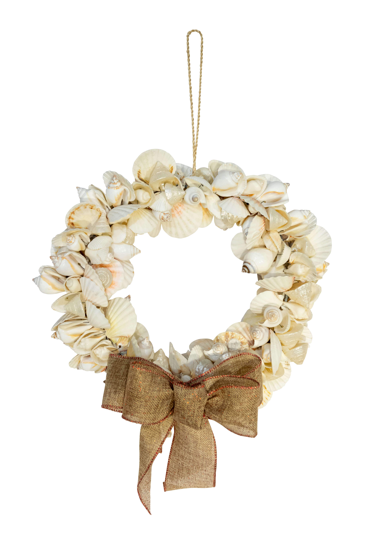 christmas shell wreath
