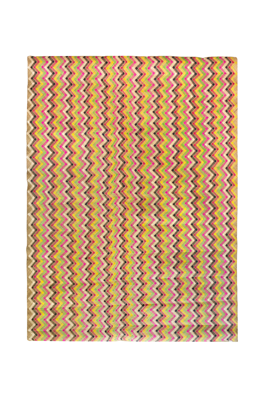 Tapete Fibra Natural Multicolor