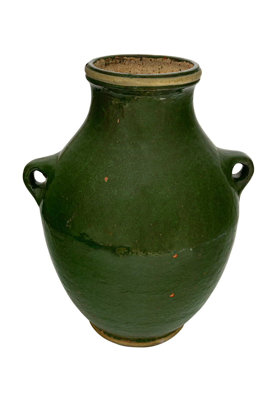 Green Mexican Ceramic Vase