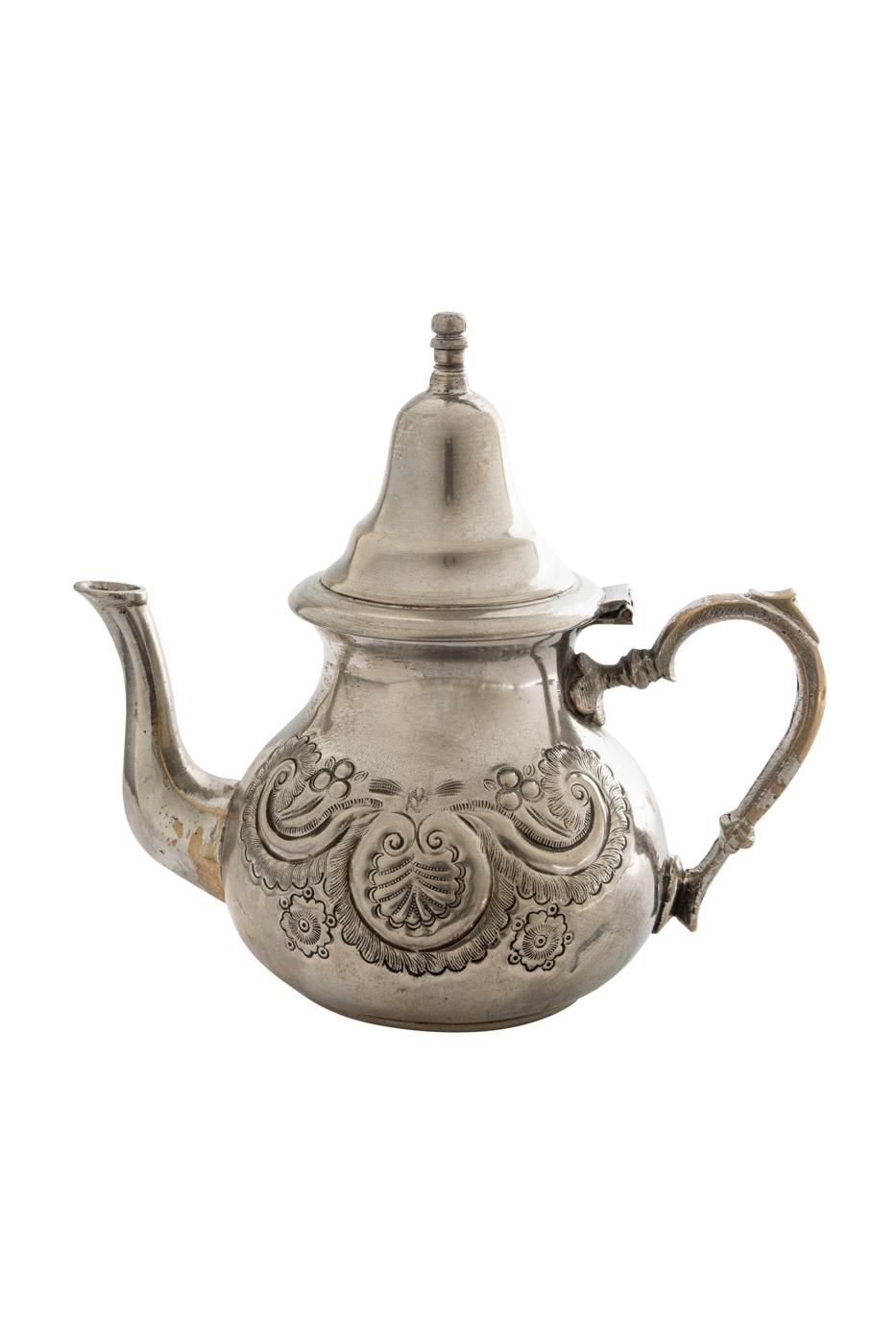 Silver Moroccan Teapot