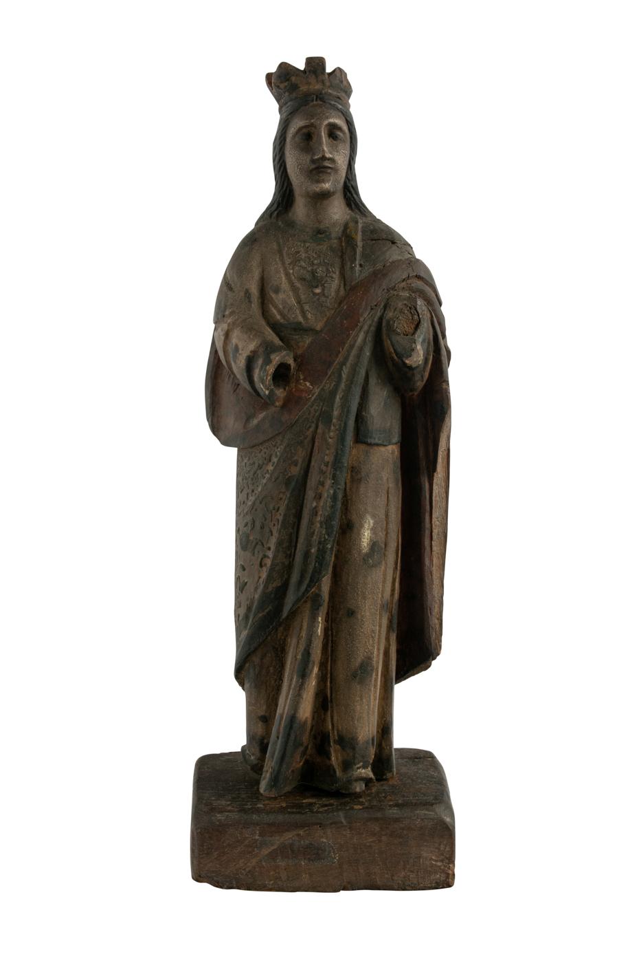 Escultura Sagrada de Filipinas en Madera Señora de Antipolo