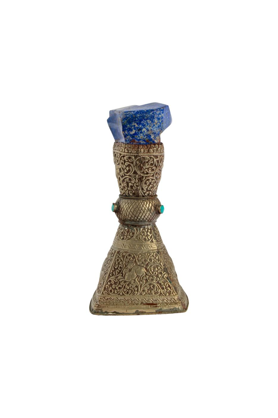 Mini Pedestal Meta y Lápiz Lazuli