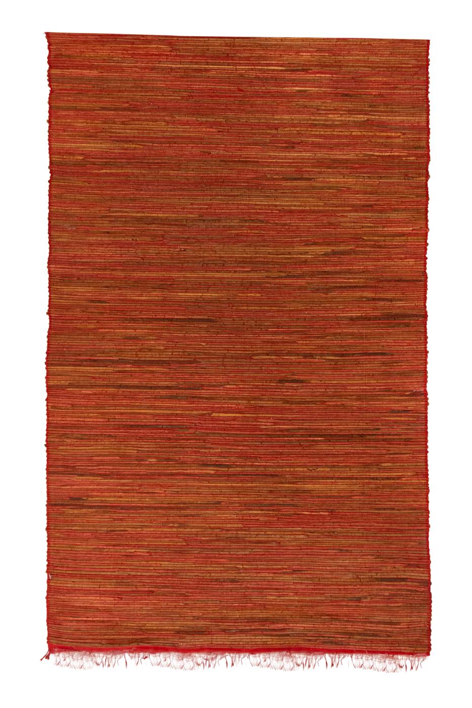 Esterilla en Bambú  Terracota