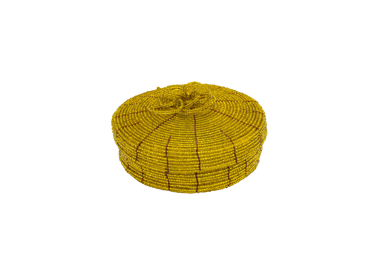 Cofre mostacilla,amarilla