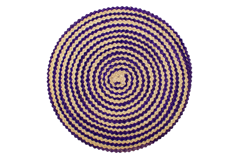 Round Palma real placemat set