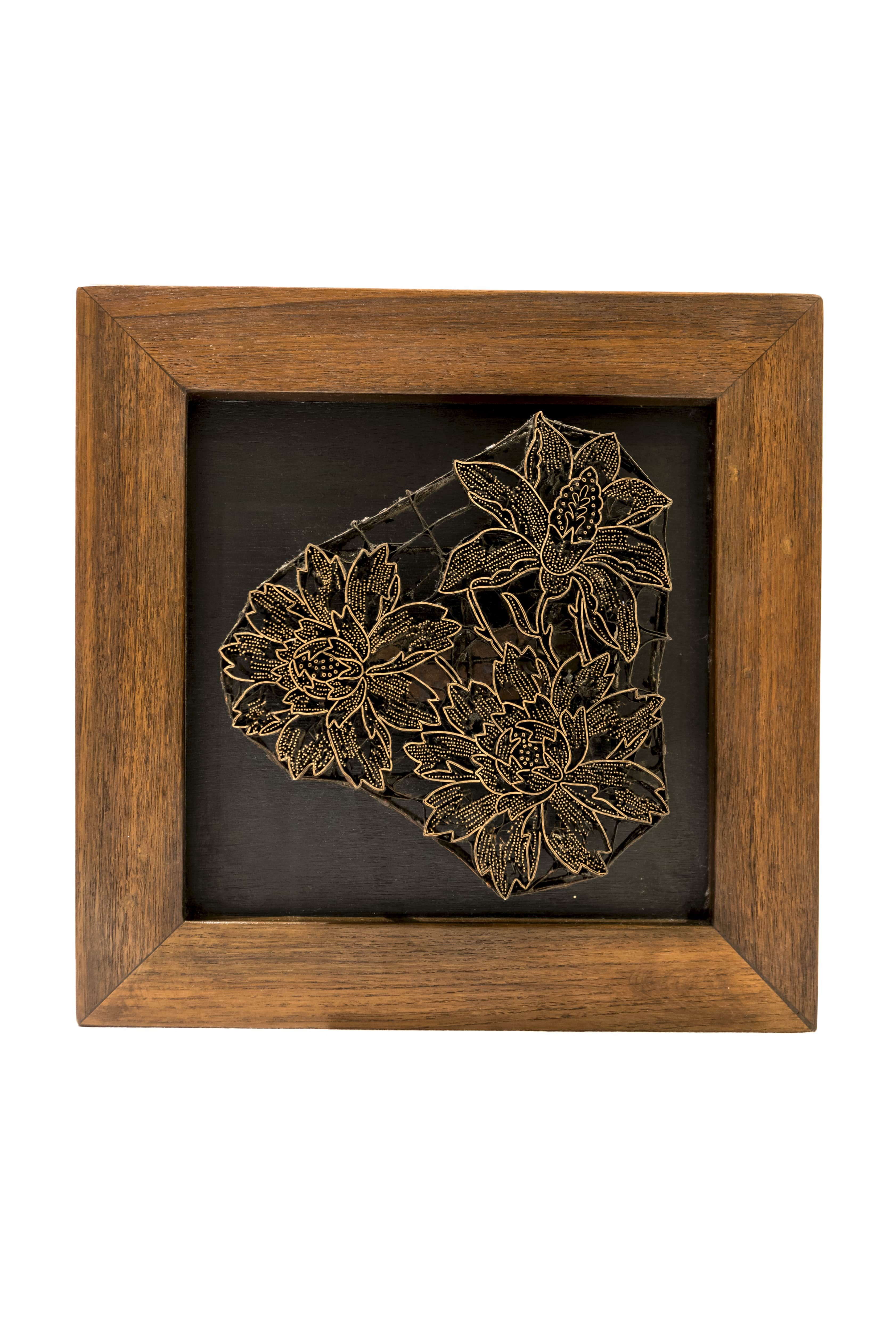Sello Batik diseño Flores