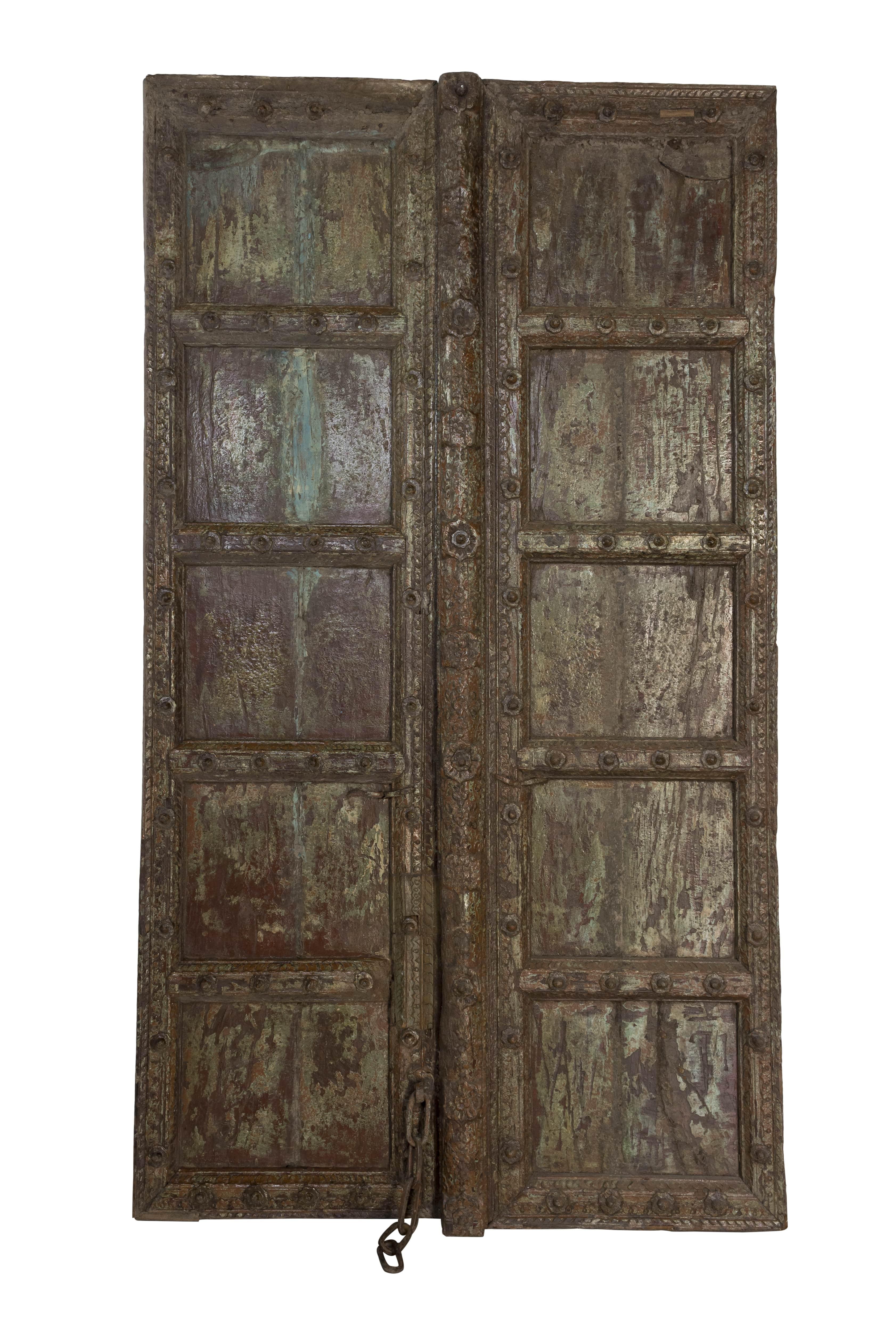 Puerta antigua India Haveli