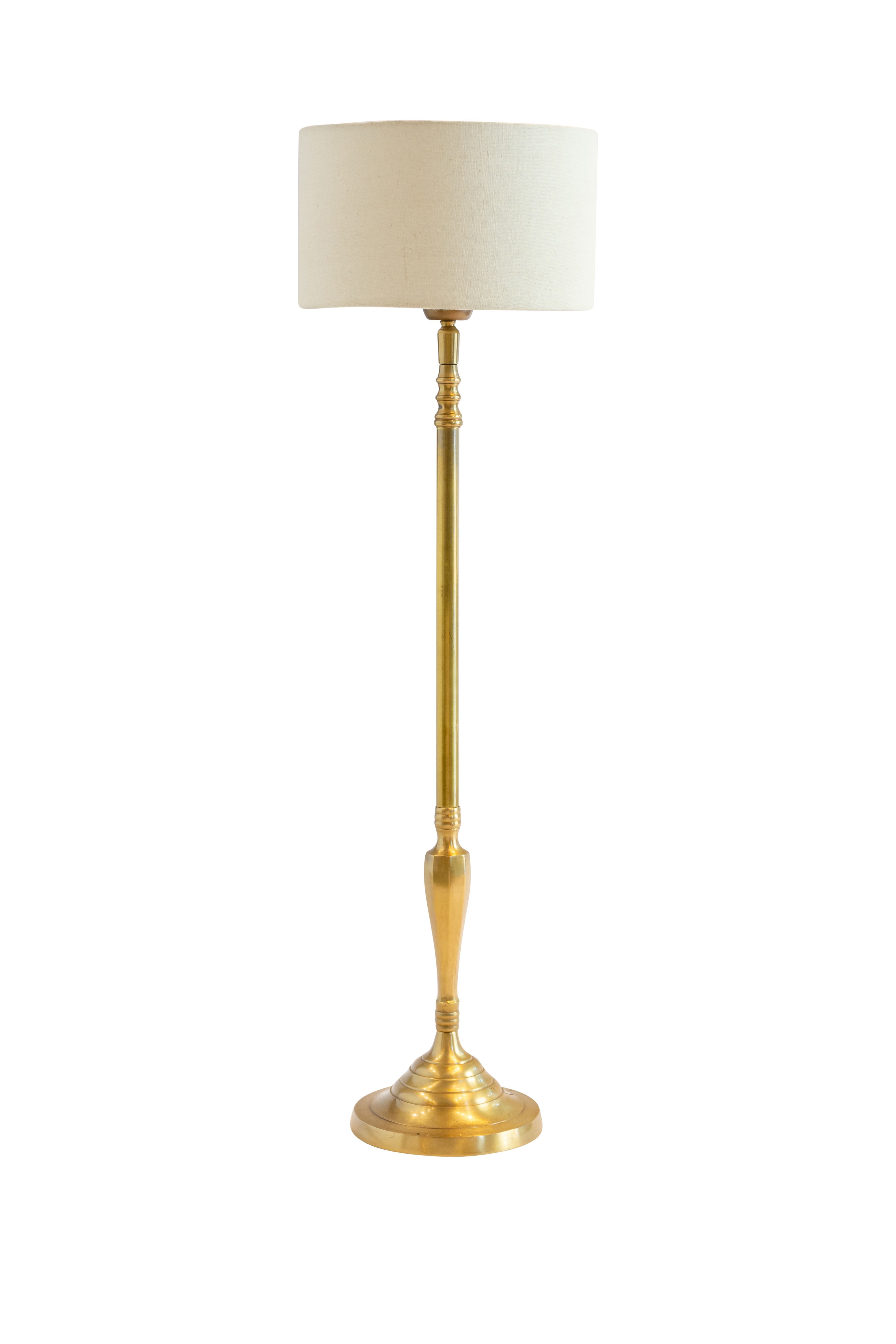Indian table lamp with gold base