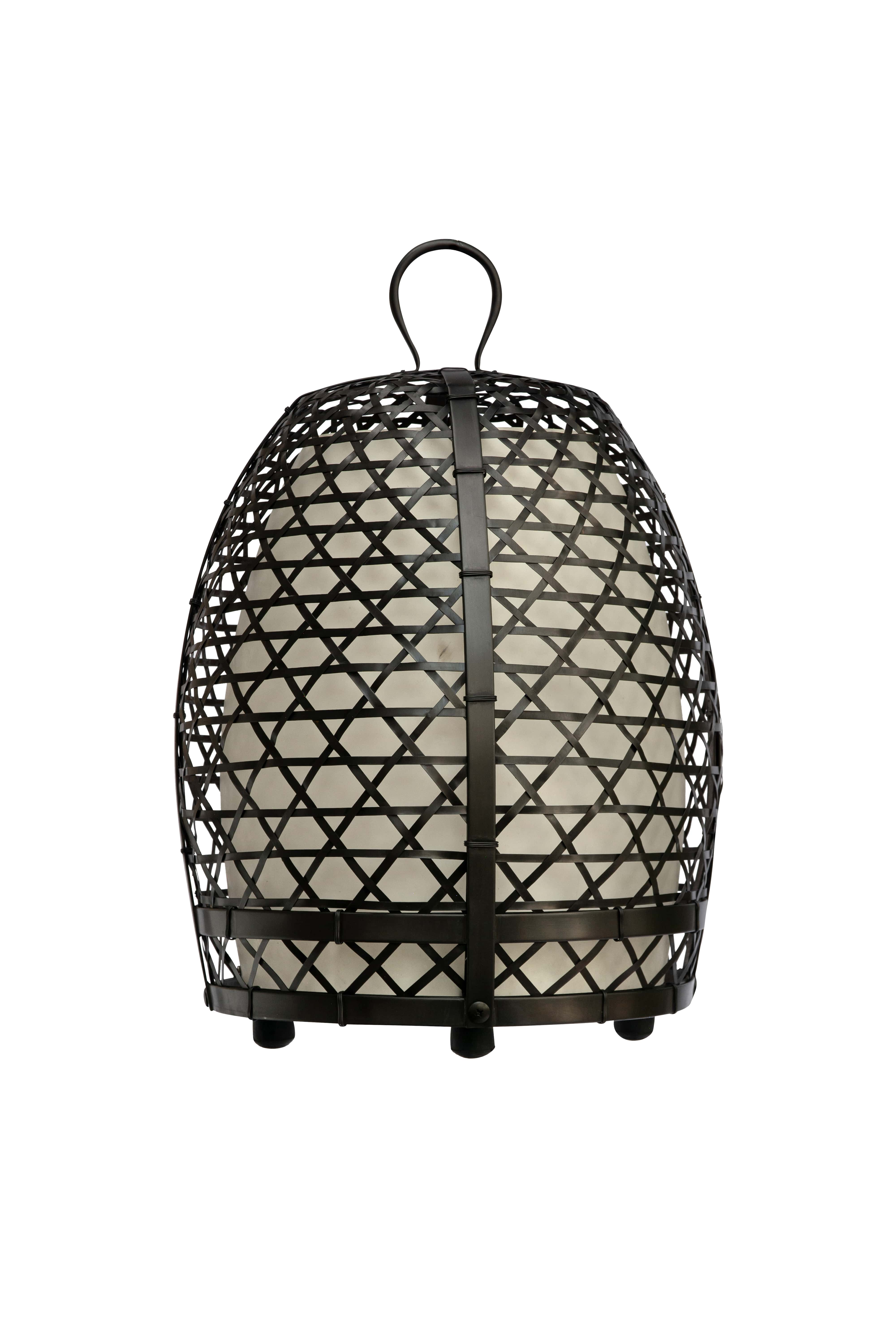 Rooster cage lamp, 59 Cm