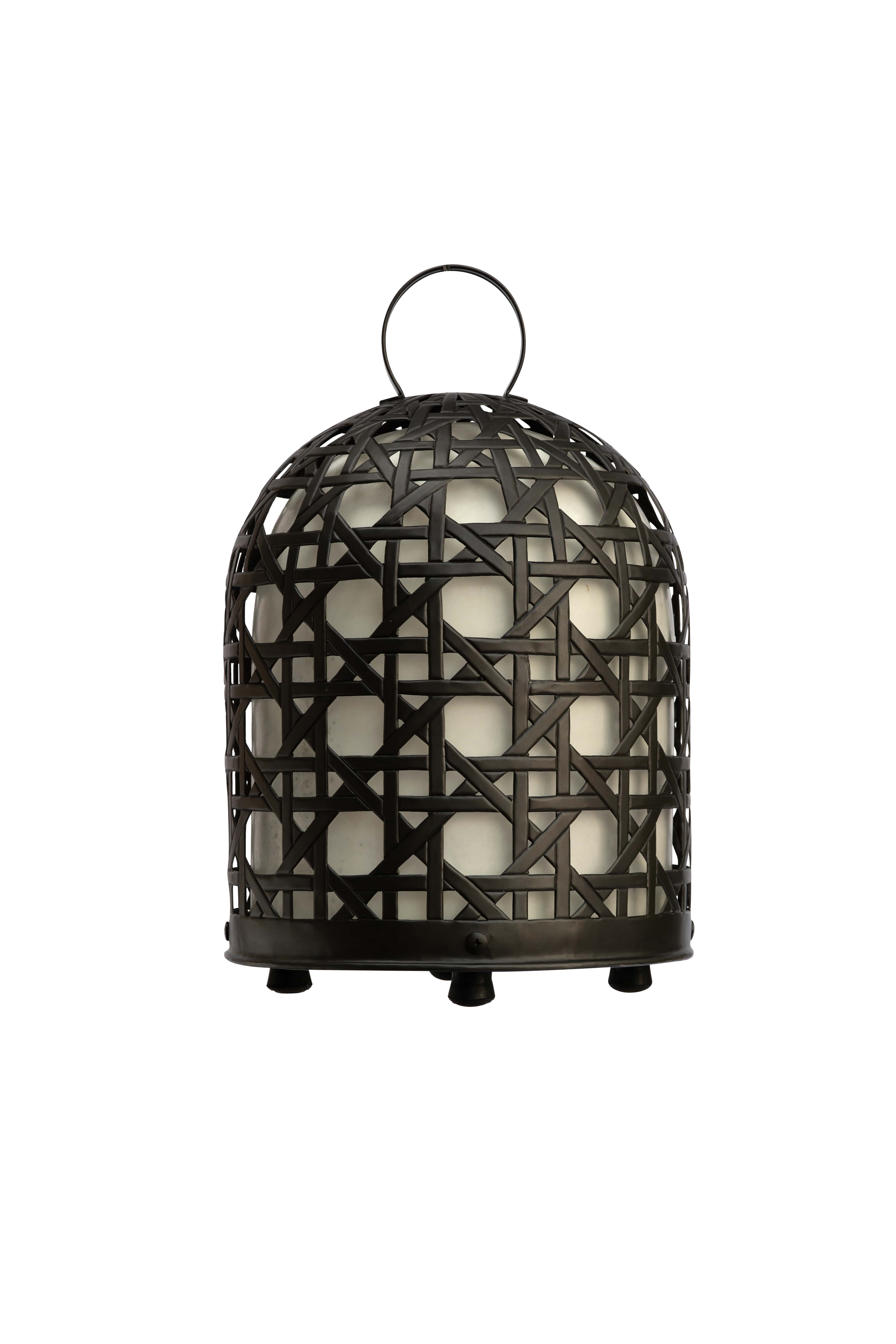 Rooster cage lamp, 61 Cm
