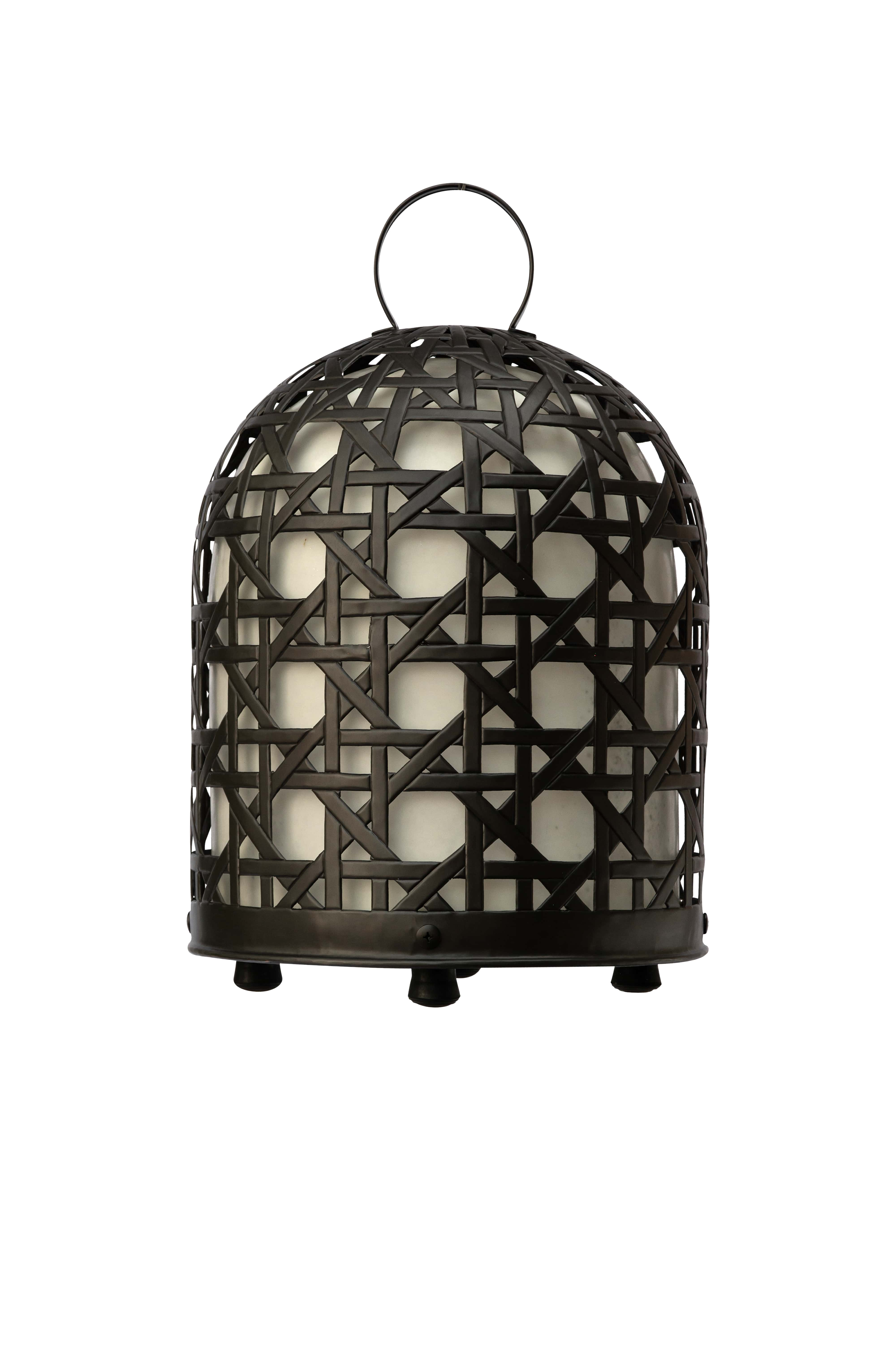 Rooster cage lamp, 66 Cm